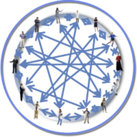 Network in Circle